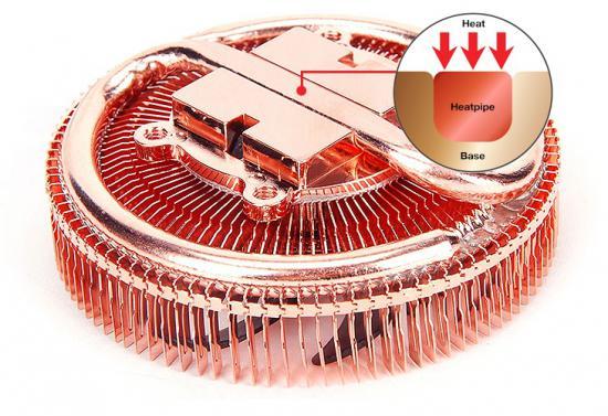 Процессорный кулер Zalman CNPS2X