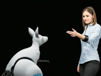 Бионический робот-кенгуру от FESTO