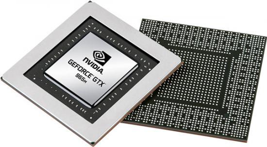 Мобильная 3D-карта Nvidia GeForce GTX 965M
