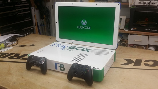 PS4 и Xbox One объединились в ноутбуке PlayBox